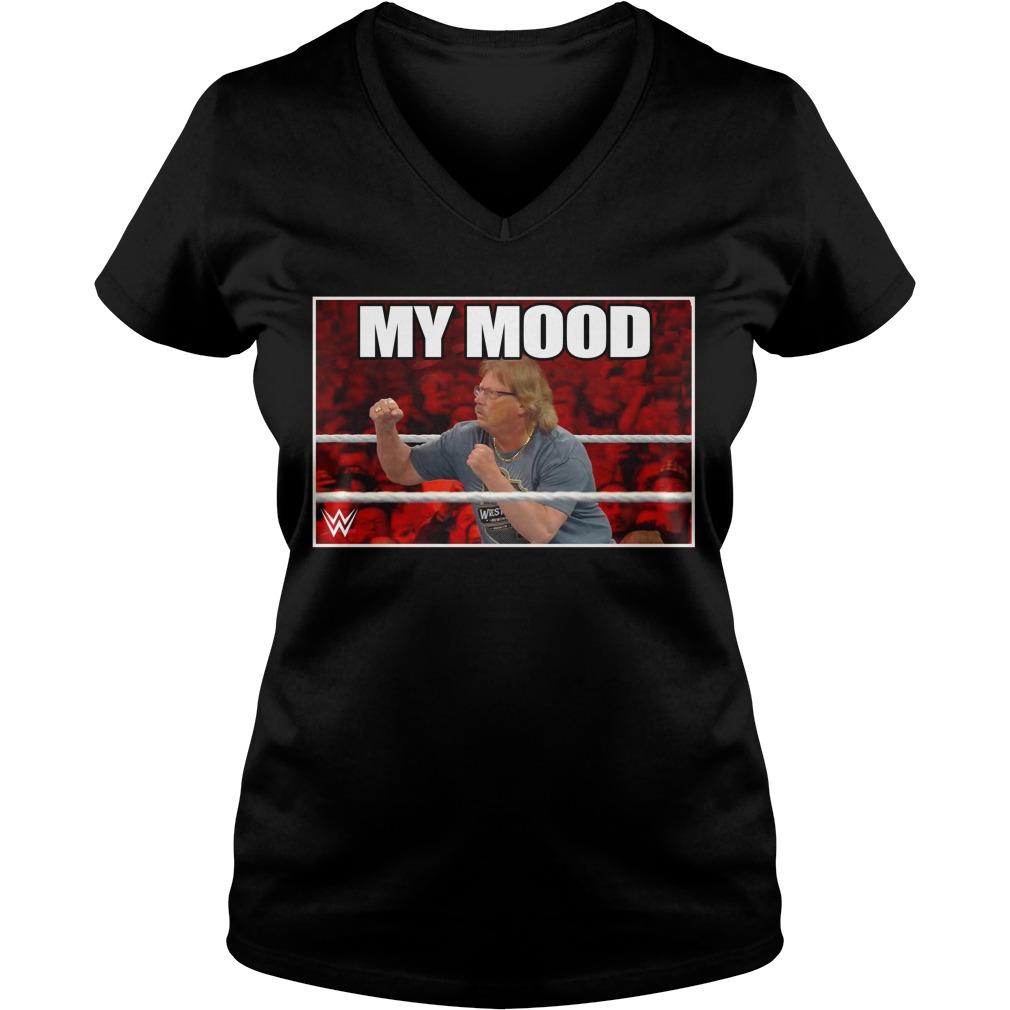 Wwe The Miz My Mood V-neck T-shirt