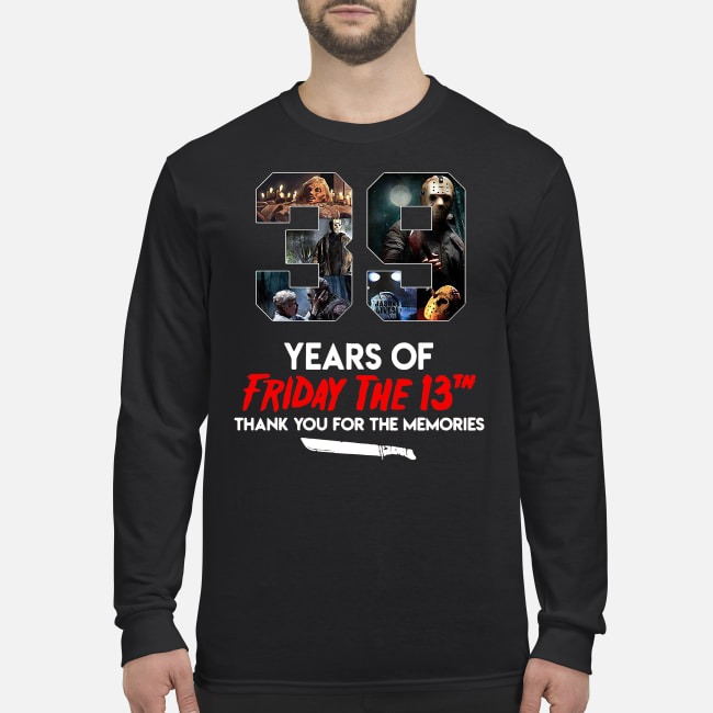 39 Years Of Friday The 13th Thank You For The Memories Sweater