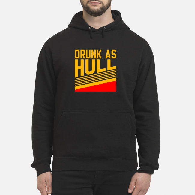 Brett Hull Drunk As Hull Hoodie