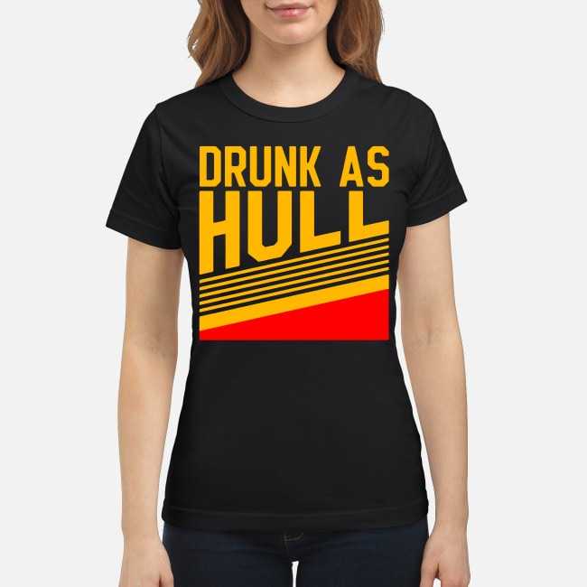 Brett Hull Drunk As Hull Ladies Tee