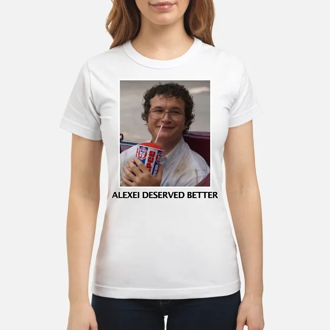 Alexei Stranger Things Russian Hero Ladies Tee