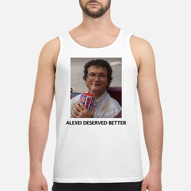 Alexei Stranger Things Russian Hero Tank Top