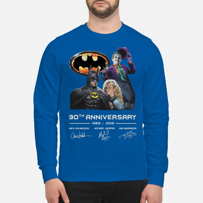 Batman Joker 30th Anniversary 1989 2019 Signature Sweater