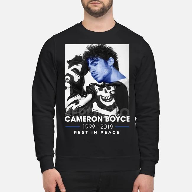 Cameron Boyce Rip 1999 2019 Rest In Peace Sweater