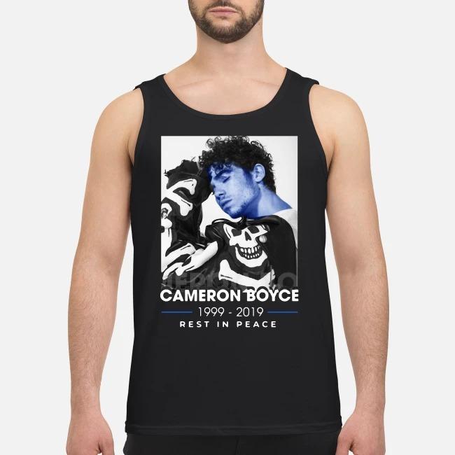 Cameron Boyce Rip 1999 2019 Rest In Peace Tank Top
