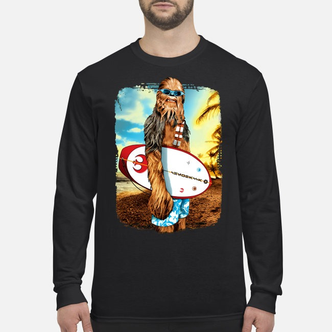 Chewbacca Surf Star War Beach Sweater
