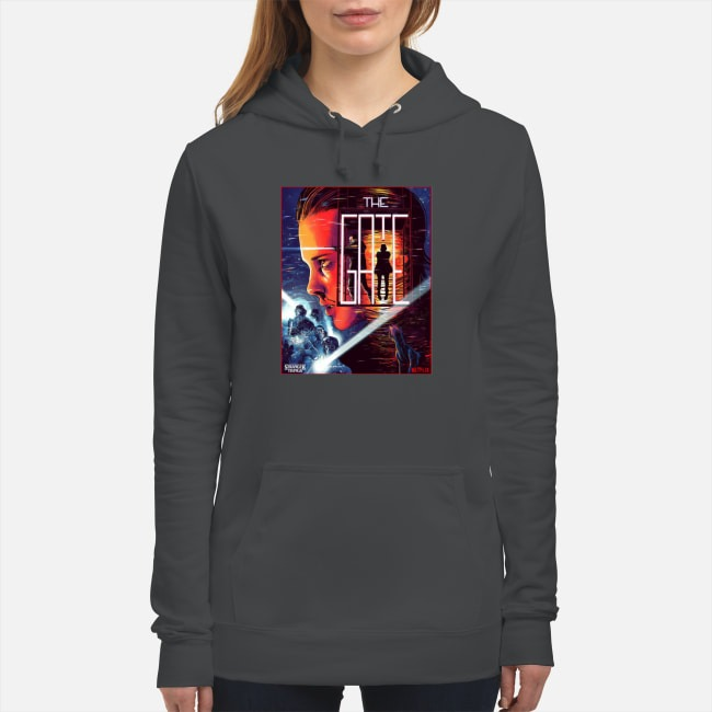 Stranger Things Close The Gate Hoodie