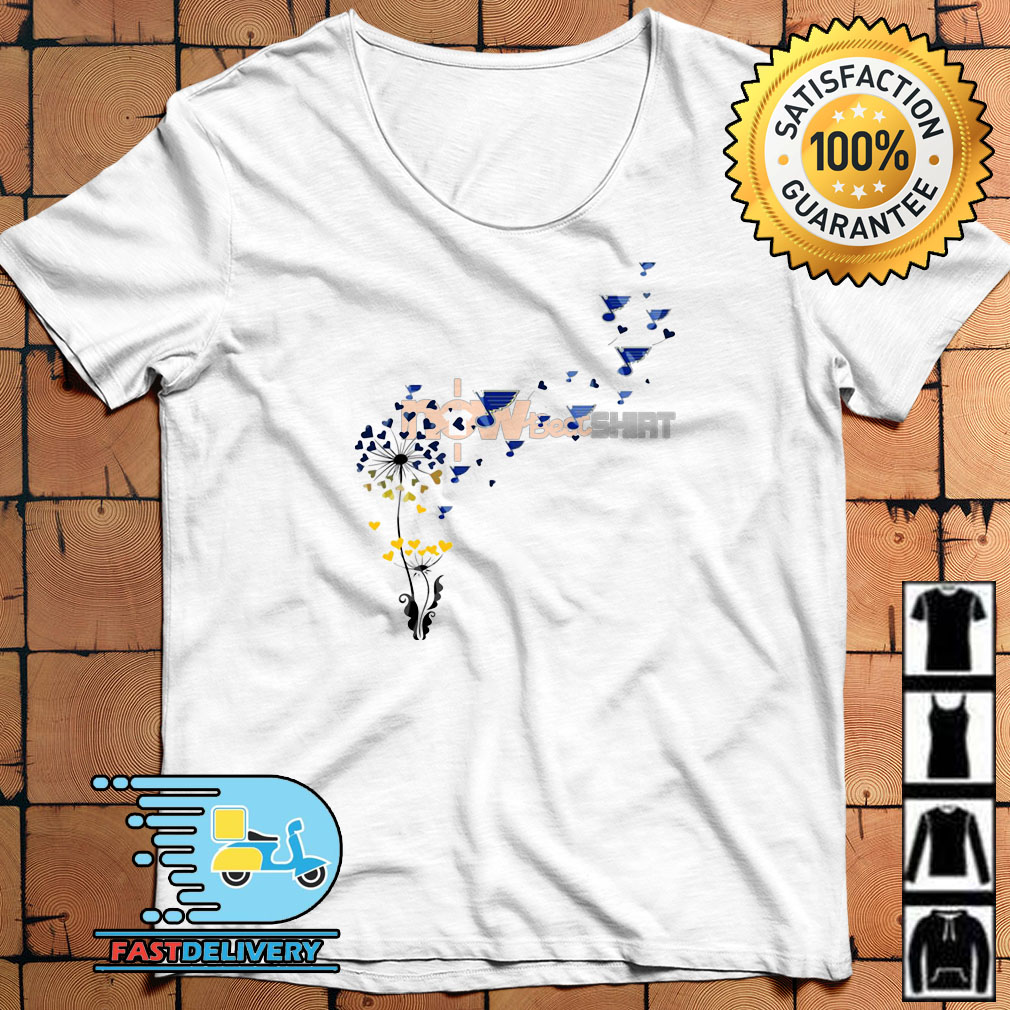 ddda2ae8adc1 Dandelion St. Louis Blues shirt, hoodie, sweater and v-neck t-shirt