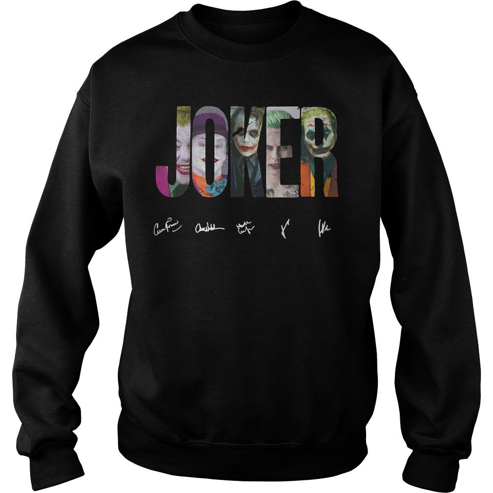Dc Comics The Joker Sweater