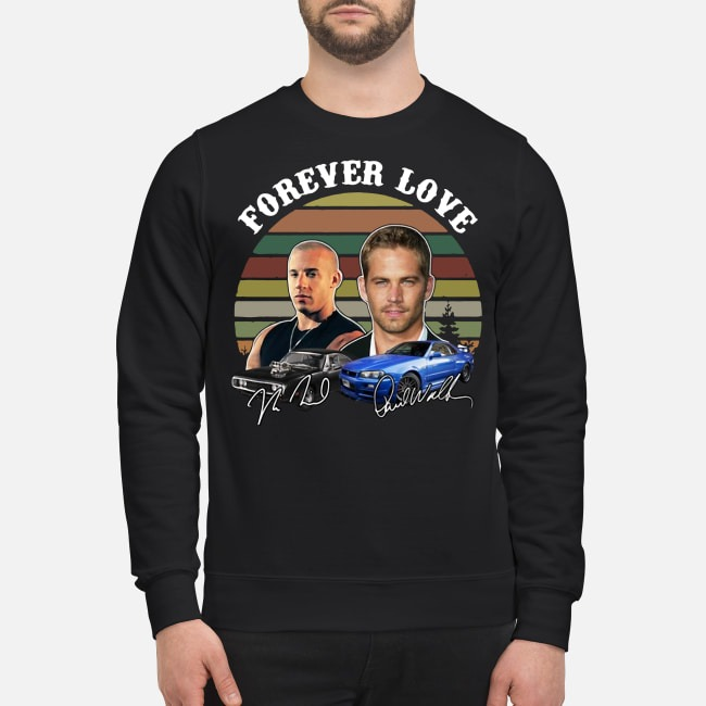 Fast And Furious Forever Love Signature Sweater