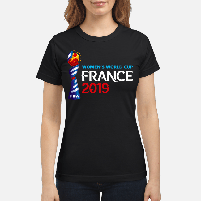 Fifa Womens World Cup France 2019 Ladies Tee