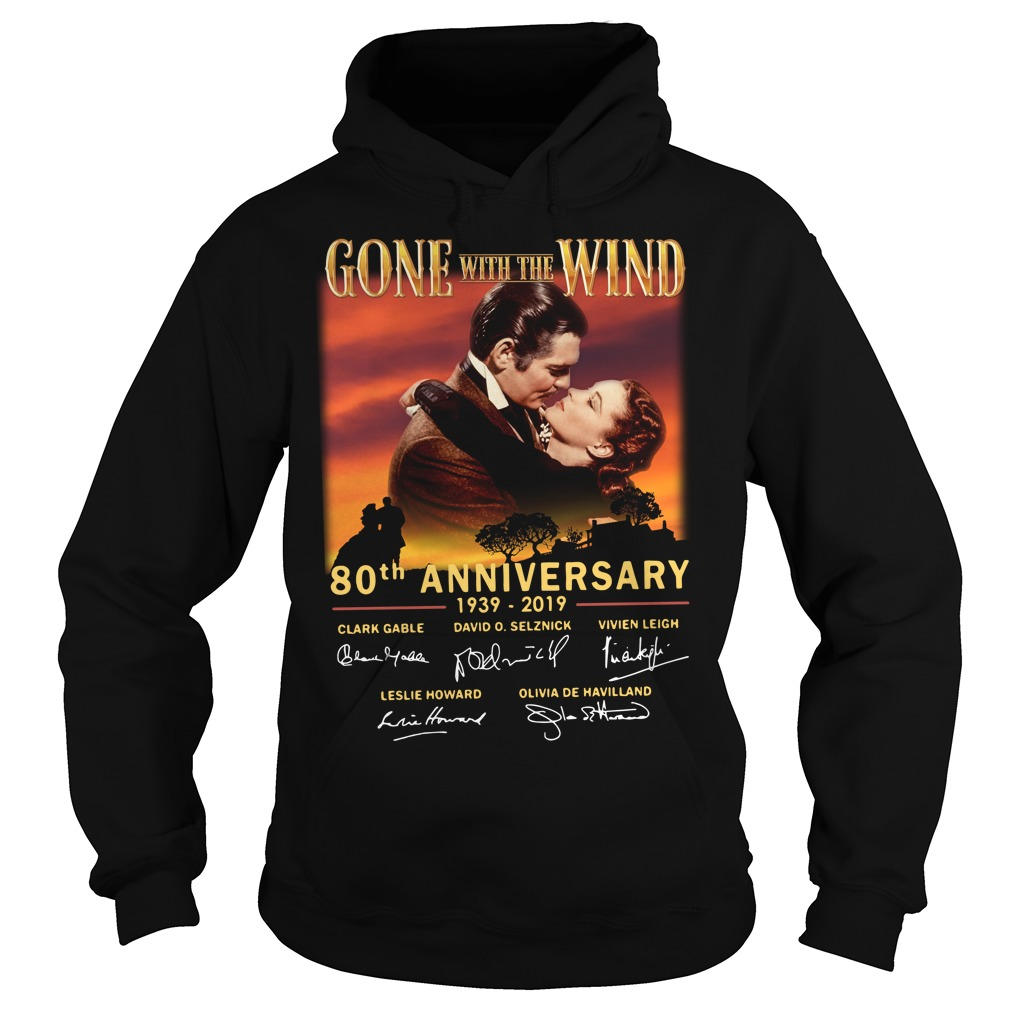 Gone With The Wind 80th Anniversary 1939 2019 Signature Hoodie