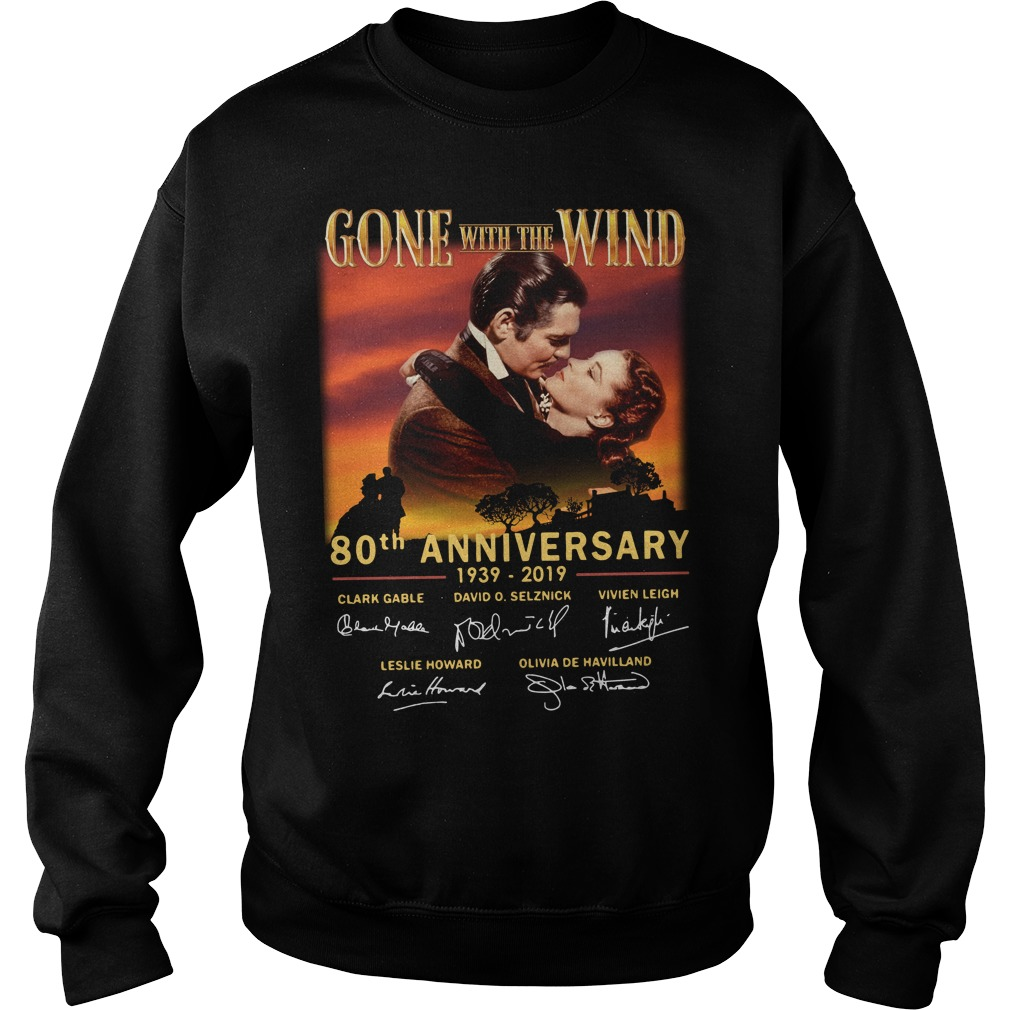 Gone With The Wind 80th Anniversary 1939 2019 Signature Sweater