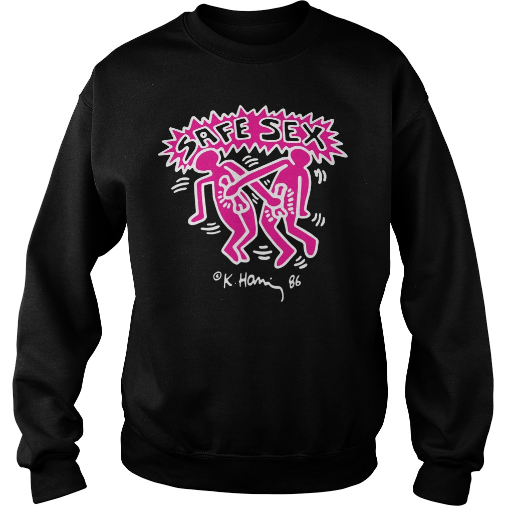 Keith Haring Aids Harry Safe Sex Sweater