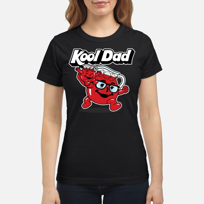 Kool Dad Fathers Day Ladies Tee