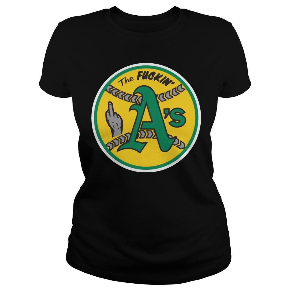 Oakland Athletics The Fuckin' A's Ladies Tee