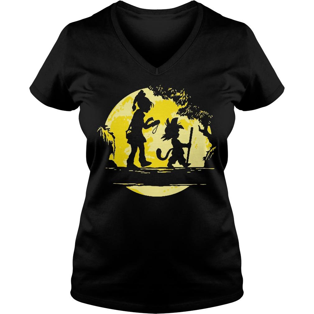 Son Goku Halloween Is Coming Moon Shirt