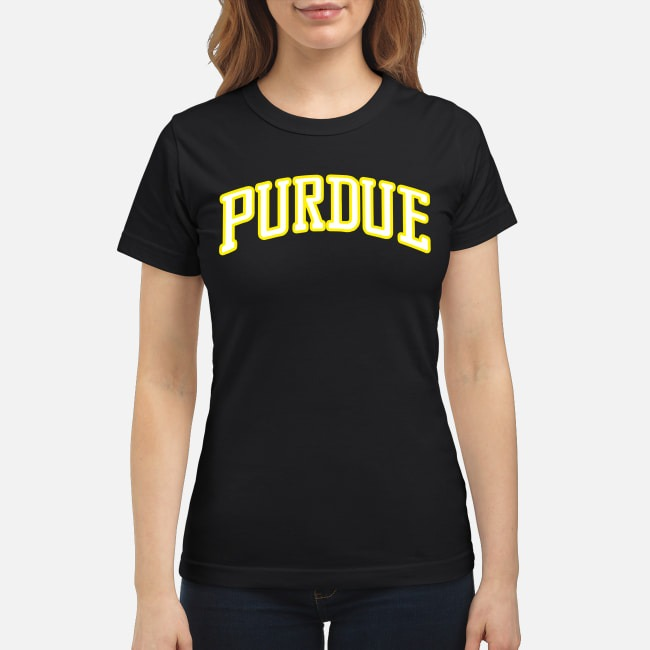 Stranger Things Purdue Ladies Tee