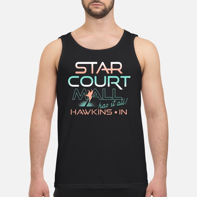 Stranger Things Star Court Mall Has It All Hawkins In Tank Top