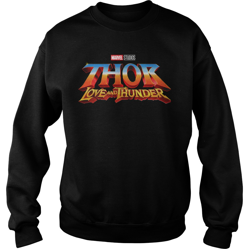 Marvel Studios Thor Love And Thunder Sweater