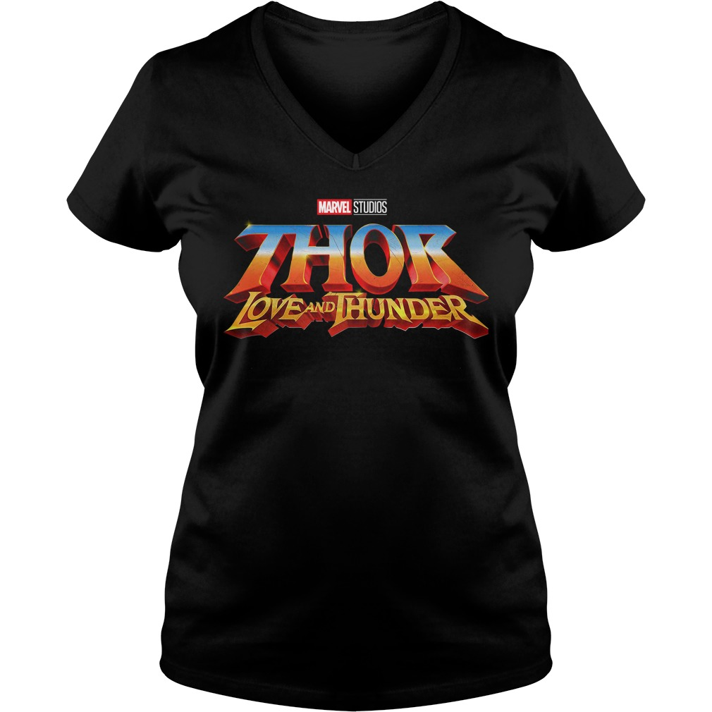 Marvel Studios Thor Love And Thunder V-neck T-shirt