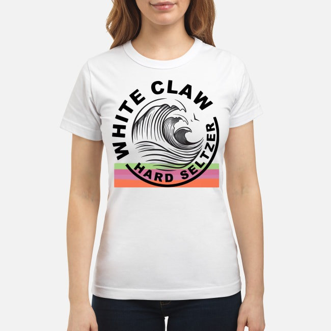 White Claw Hard Seltzer Ladies Tee