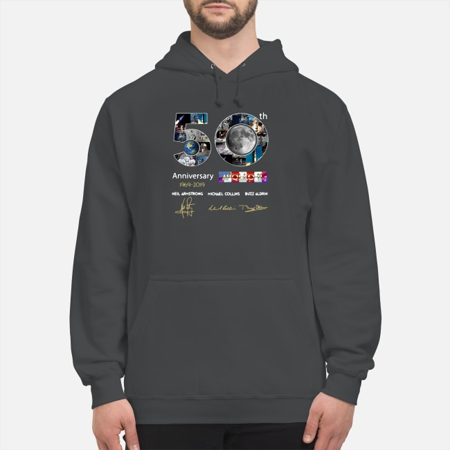 50th Anniversary 1969 2019 Apollo 11 Neil Armstrong Michael Hoodie