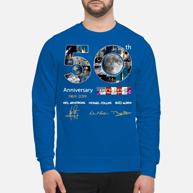 50th Anniversary 1969 2019 Apollo 11 Neil Armstrong Michael Sweater