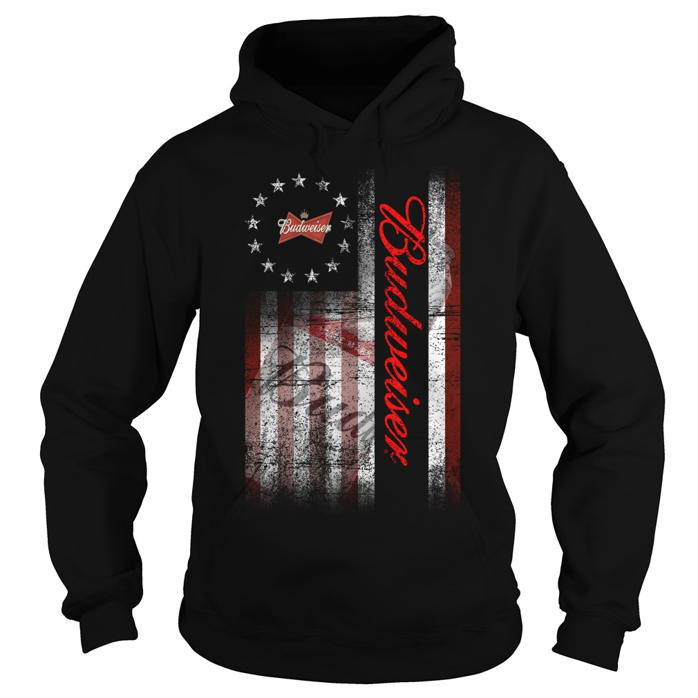 Betsy Ross Flag Budweiser Hoodie