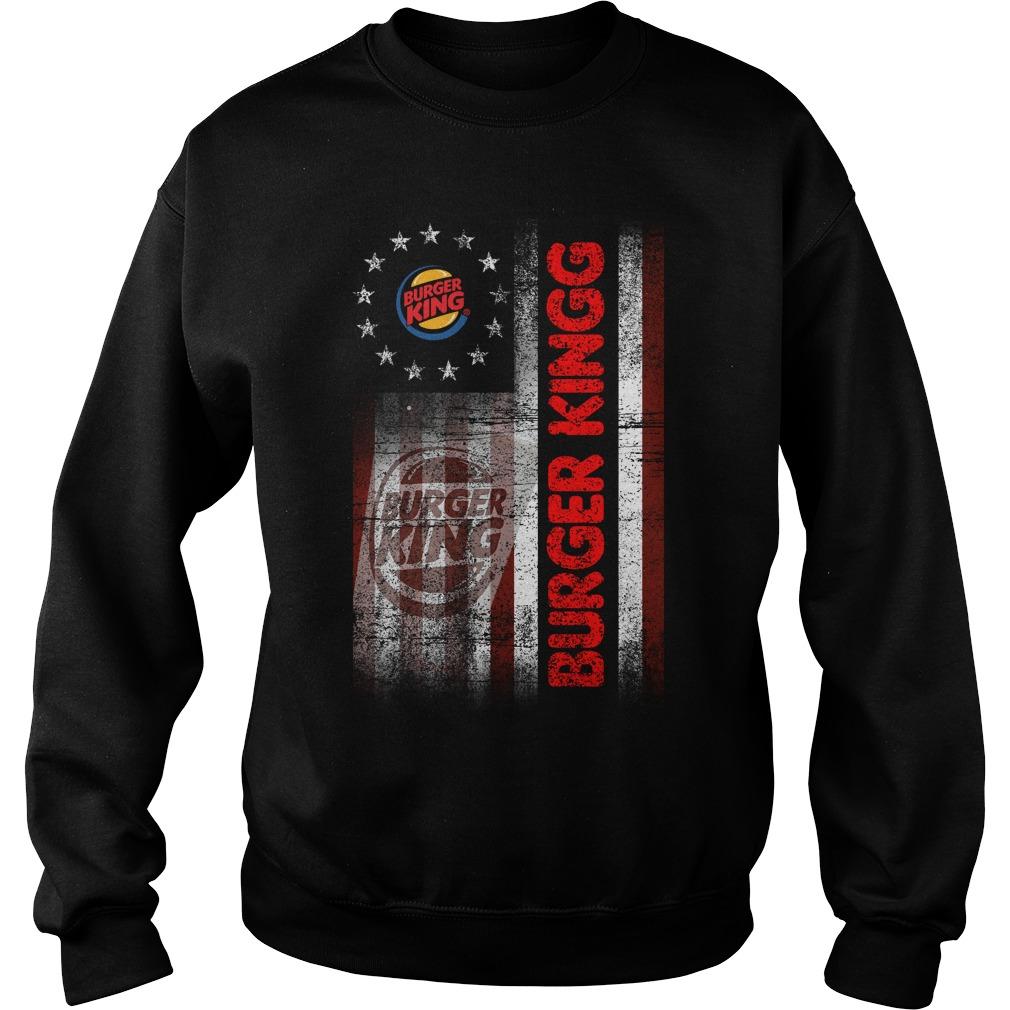 Betsy Ross Flag Burger King Sweater