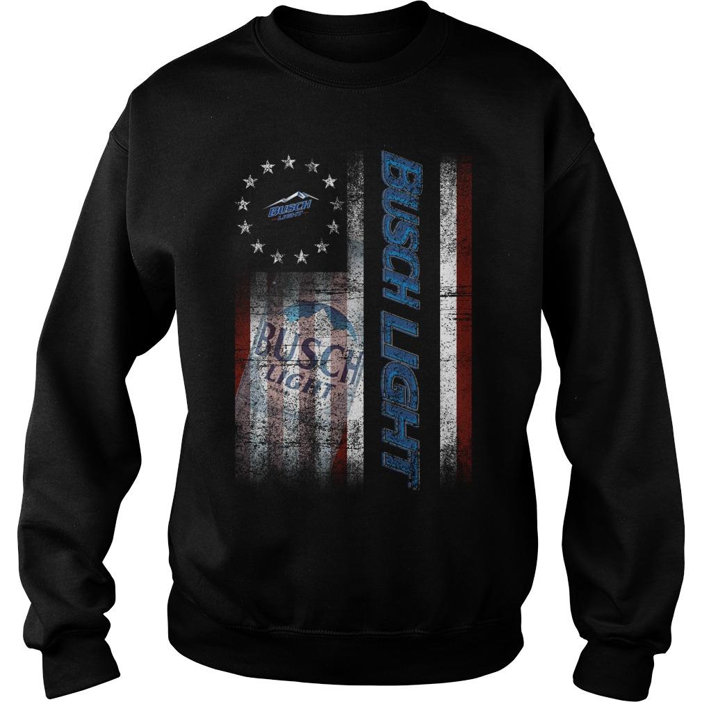Betsy Ross Flag Busch Light Sweater