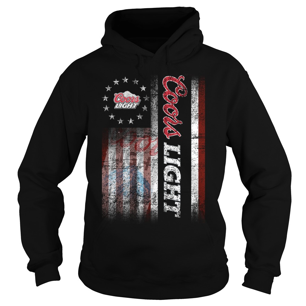 Betsy Ross Flag Coors Light Hoodie