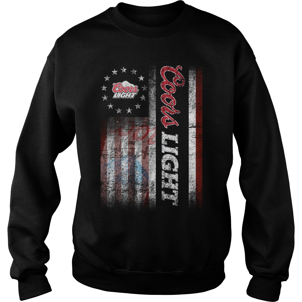 Betsy Ross Flag Coors Light Sweater