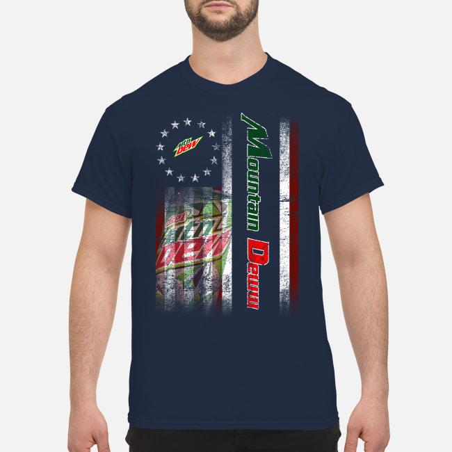 Betsy Ross Flag Mountain Dew Guys Guys Shirt