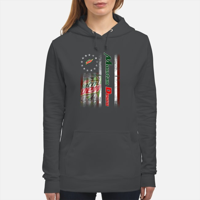 Betsy Ross Flag Mountain Dew Hoodie
