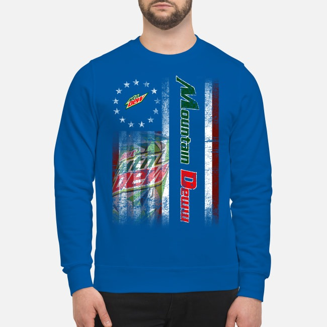 Betsy Ross Flag Mountain Dew Sweater