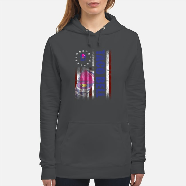 Betsy Ross Flag Taco Bell Hoodie