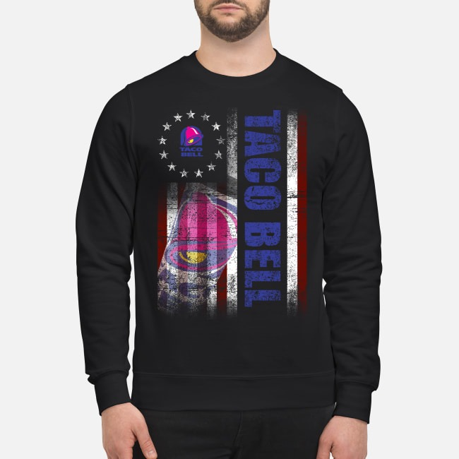 Betsy Ross Flag Taco Bell Sweater