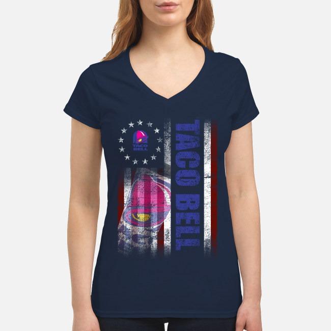 Betsy Ross Flag Taco Bell V-neck T-shirt