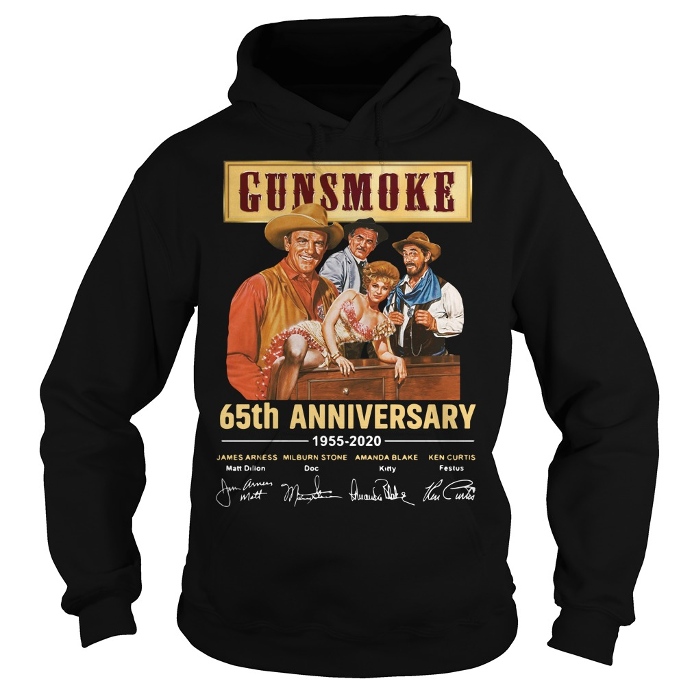 Gunsmoke 65th Anniversary 1955 2020 Signature Shirt