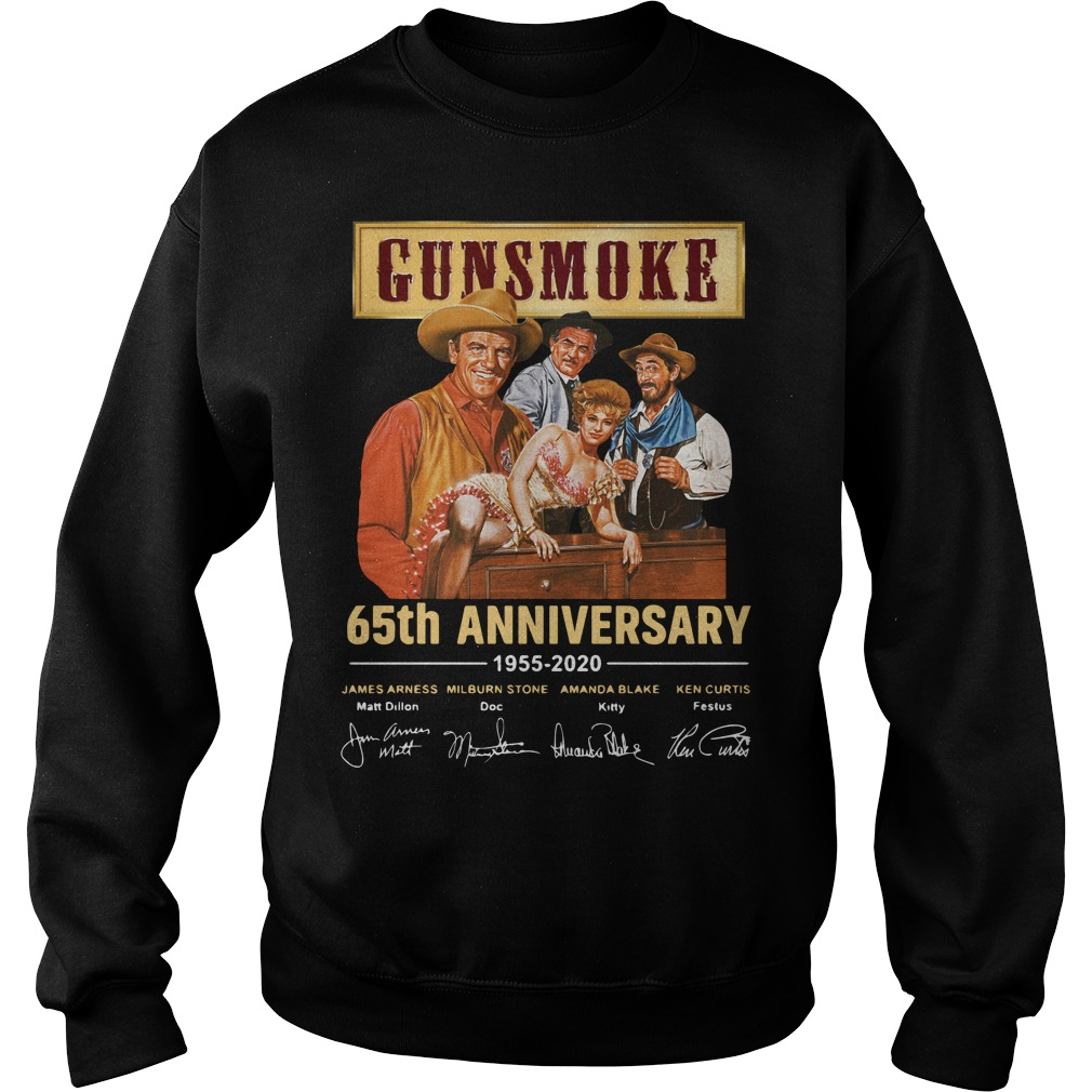 Gunsmoke 65th Anniversary 1955 2020 Signature Shirt
