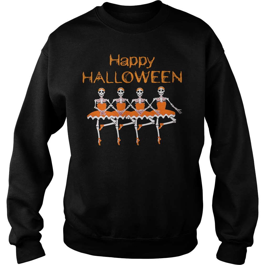 Happy Halloween Jack Skellington Ballet Shirt