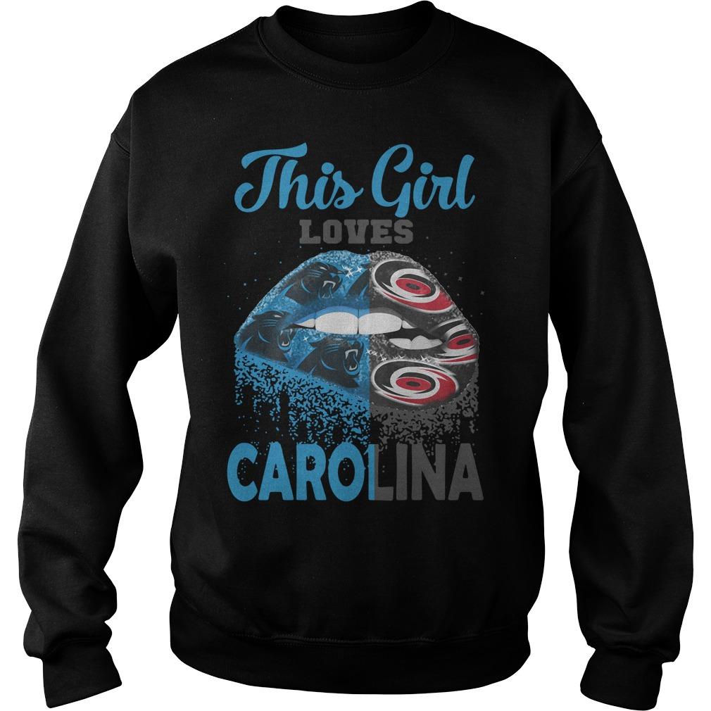 Lip This Girl Loves Carolina Sweater