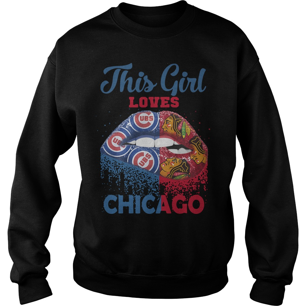 Lip This Girl Loves Chicago Sweater