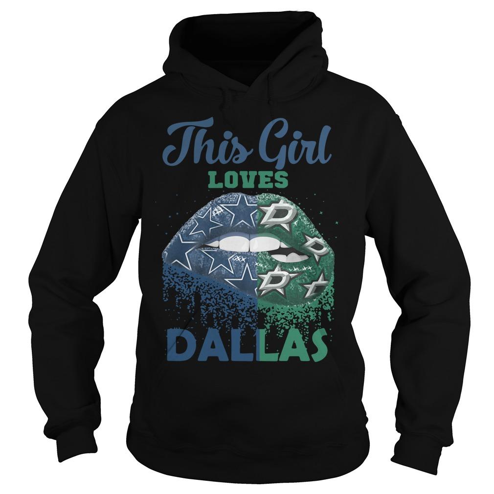 Lip This Girl Loves Dallas Hoodie