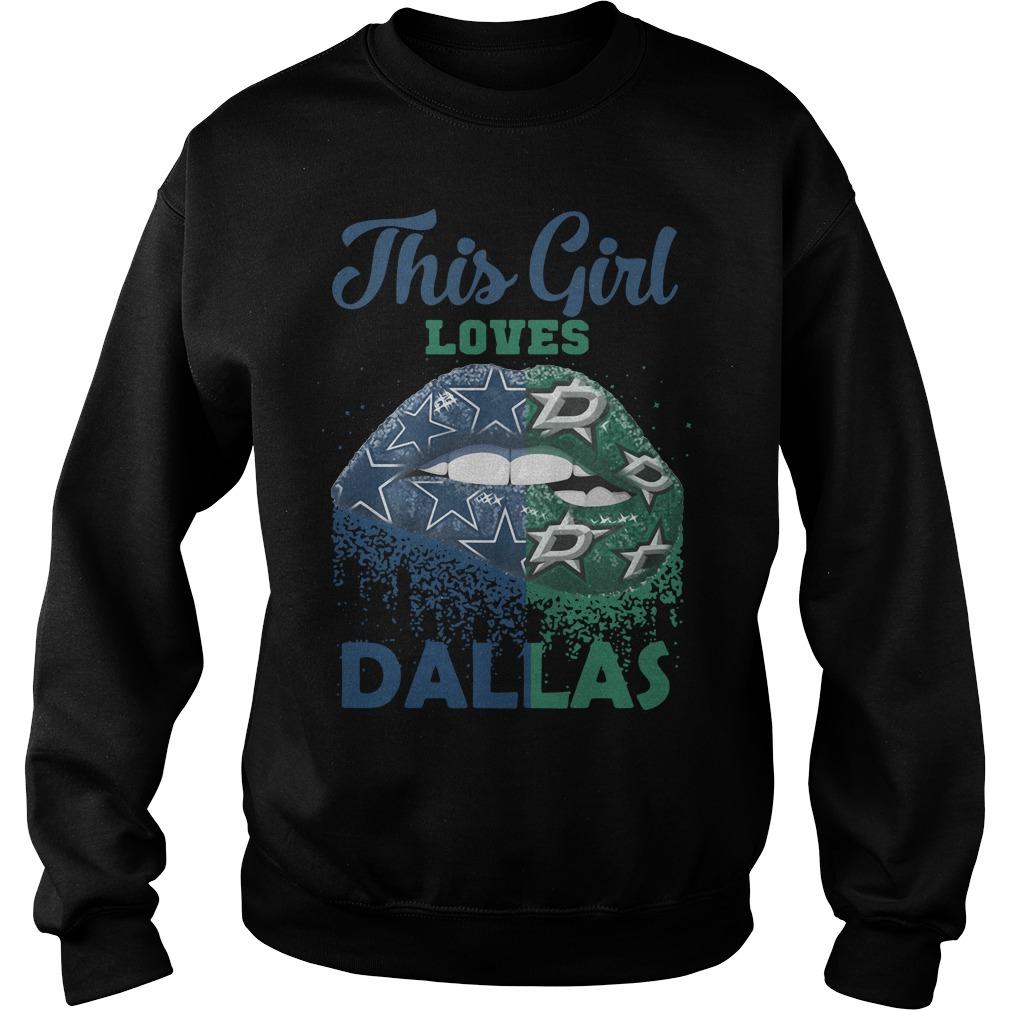 Lip Girl Loves Dallas Sweater