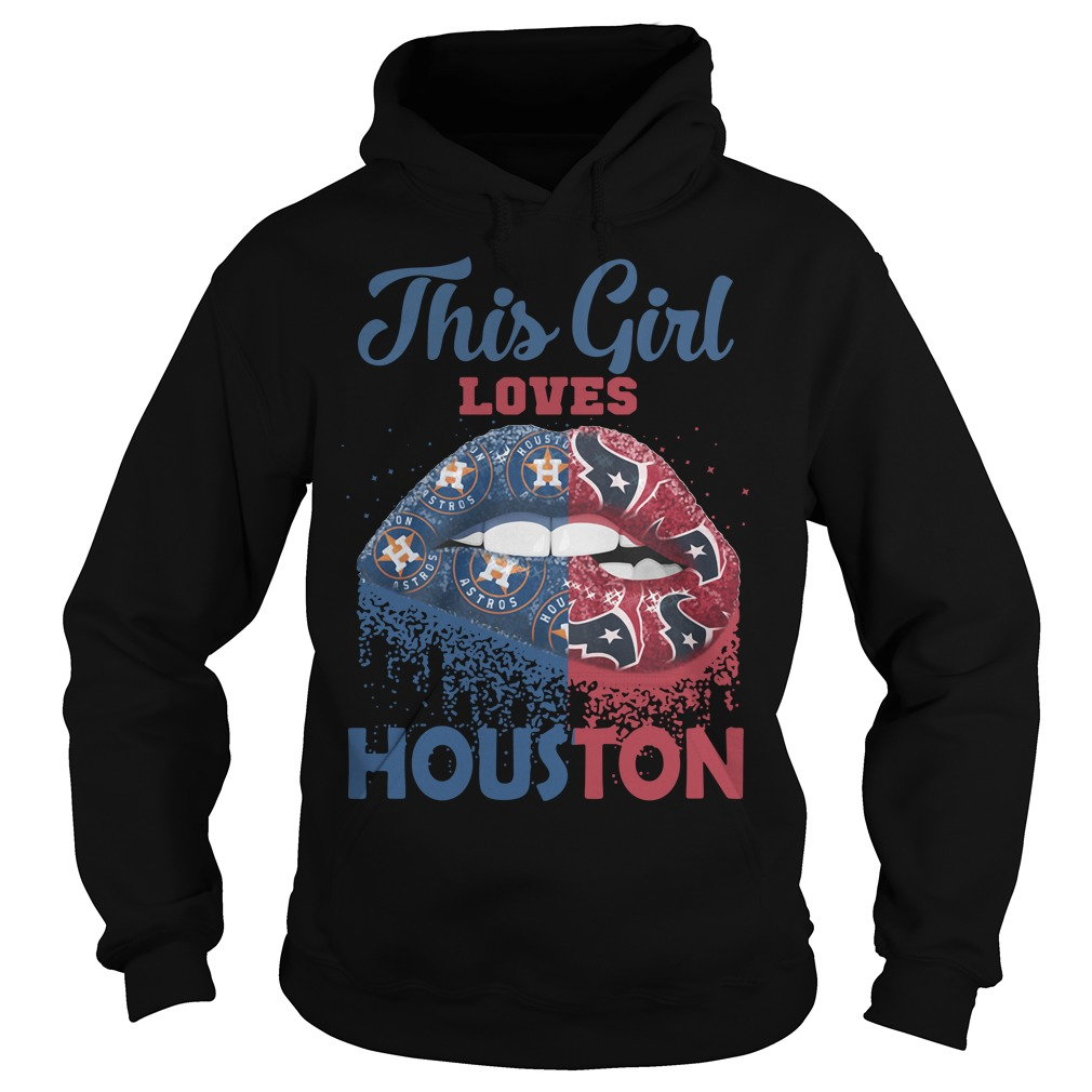 Lip This Girl Loves Houston Hoodie