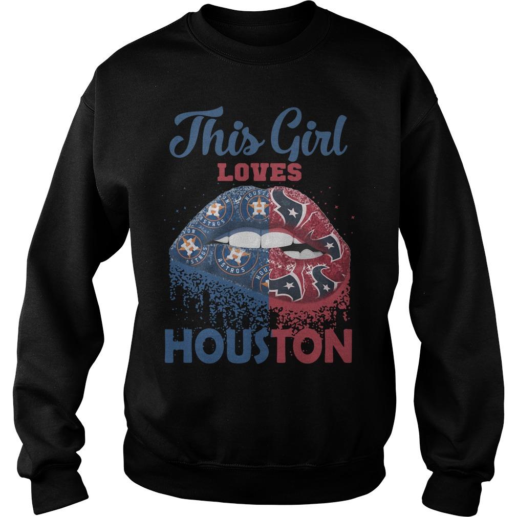 Lip This Girl Loves Houston Sweater