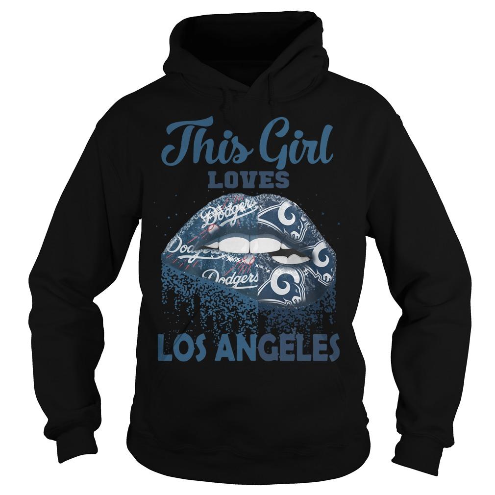 Lip This Girl Loves Los Angeles Hoodie