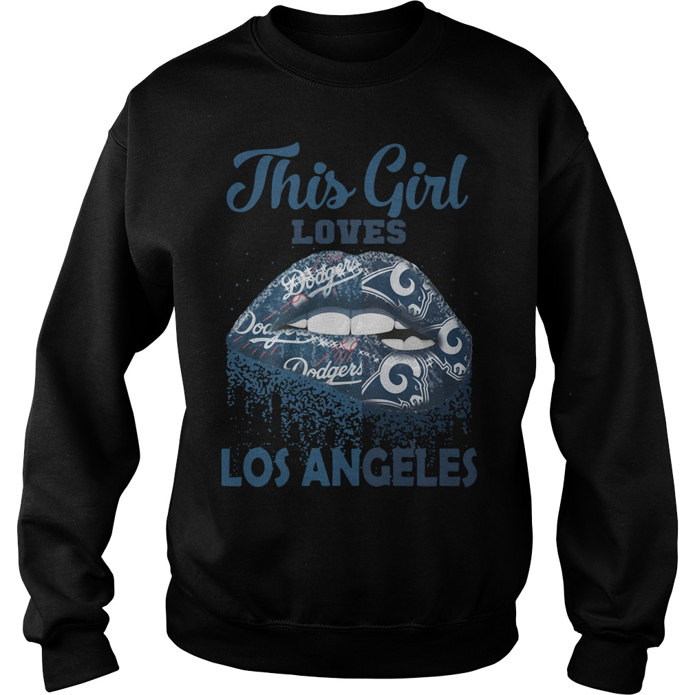 Lip This Girl Loves Los Angeles Sweater